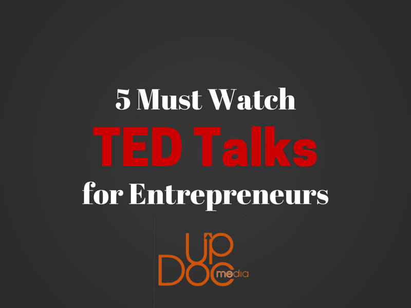 Entrepreneur best TED talks