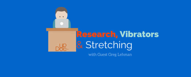 Physical therapy podcast on research, stretching and clinic
