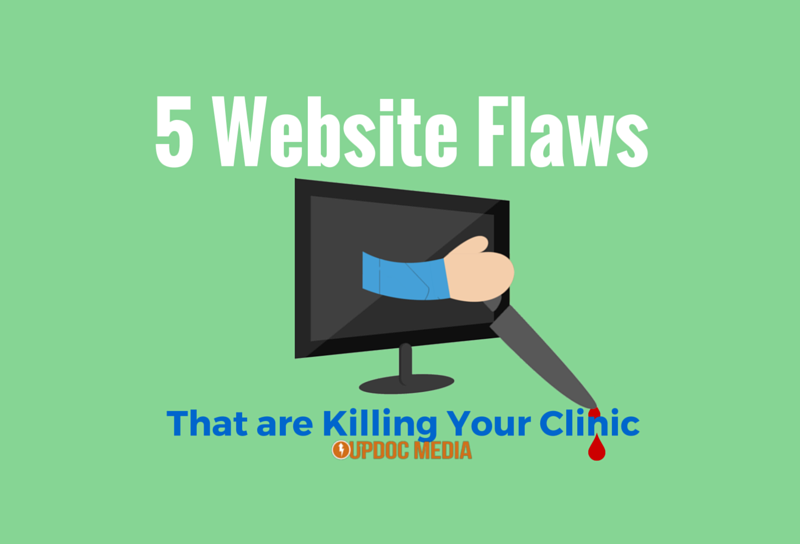 website flaws killing your clinic
