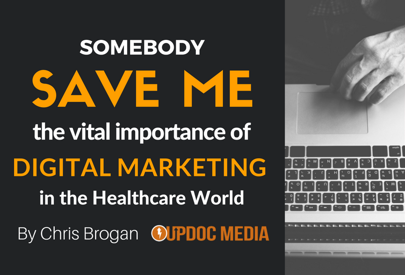 Somebody Save Me: The Vital Importance of Digital Marketing