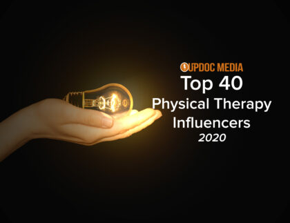 Top 40 physical therapy influencers 2020